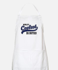 World's Coolest Big Brother BBQ Apron