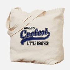 World's Coolest Little Brother Tote Bag
