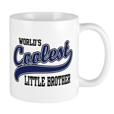 World's Coolest Little Brother Mug