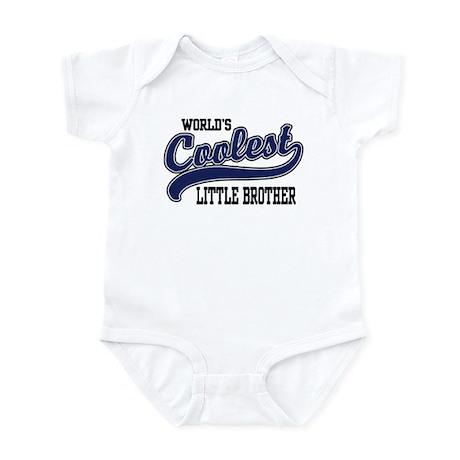 World's Coolest Little Brother Infant Bodysuit