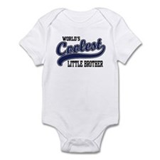 World's Coolest Little Brother Infant Bodysuit