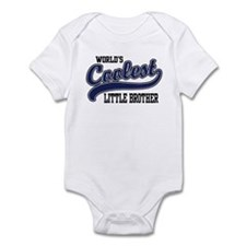 World's Coolest Little Brother Onesie