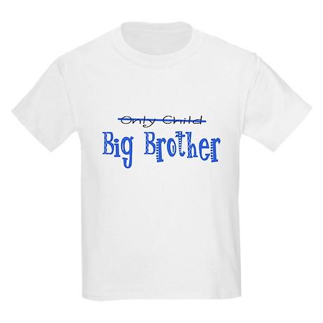Only Child - Big Brother Kids Light T-Shirt