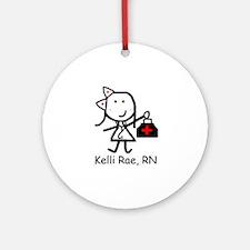 Medical - Kelli Rae Ornament (Round)
