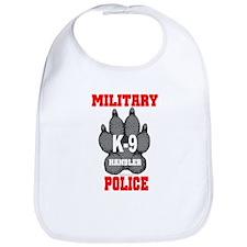 Military Police K9 Handler in Bib