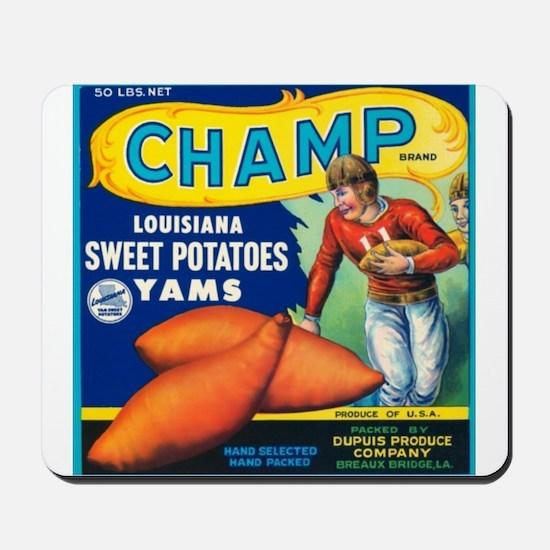 Champ Louisiana Mousepad