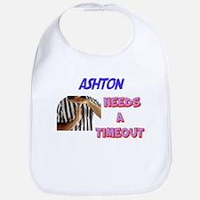 Ashton Needs a Timeout Bib