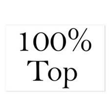 100% Top Postcards (Package of 8)