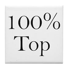 100% Top Tile Coaster