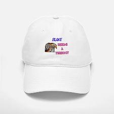 Blake Needs a Timeout Baseball Baseball Cap