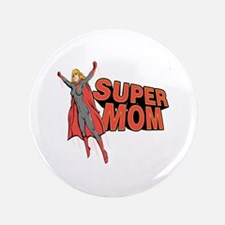 """Super Mom 3.5"""" Button"""