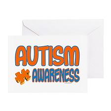 Autism Awareness 1.3 Greeting Card