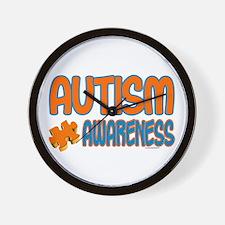 Autism Awareness 1.3 Wall Clock