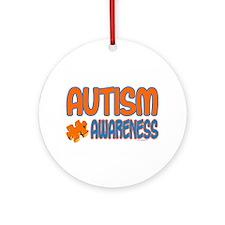 Autism Awareness 1.3 Ornament (Round)