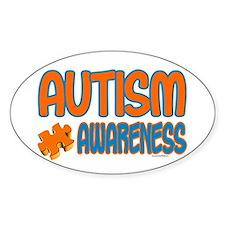 Autism Awareness 1.3 Oval Decal