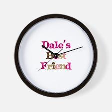 Dale's Best Friend Wall Clock