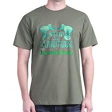 Circus Boycott- Green T-Shirt