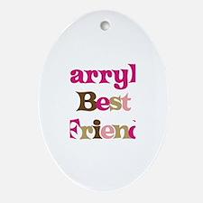Darryl's Best Friend Oval Ornament