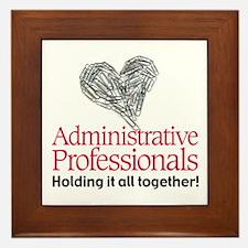 Administrative Professionals- Framed Tile
