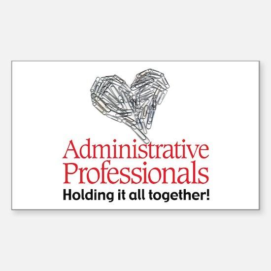 Administrative Professionals- Rectangle Sticker 1