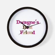 Dwayne's Best Friend Wall Clock