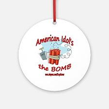 AI THE BOMB Ornament (Round)