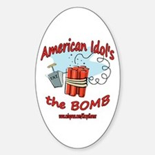 AI THE BOMB Oval Decal