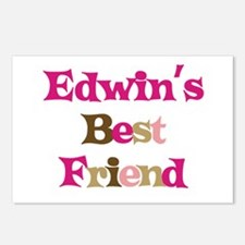 Edwin's Best Friend Postcards (Package of 8)