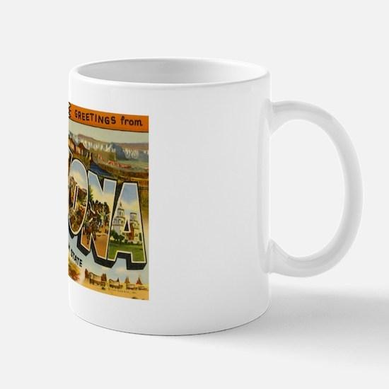 Arizona AZ Postcard Mug