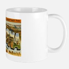 Arizona AZ Postcard Small Small Mug