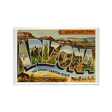 Arizona AZ Postcard Rectangle Magnet