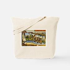 Arizona AZ Postcard Tote Bag