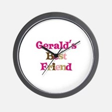 Gerald's Best Friend Wall Clock