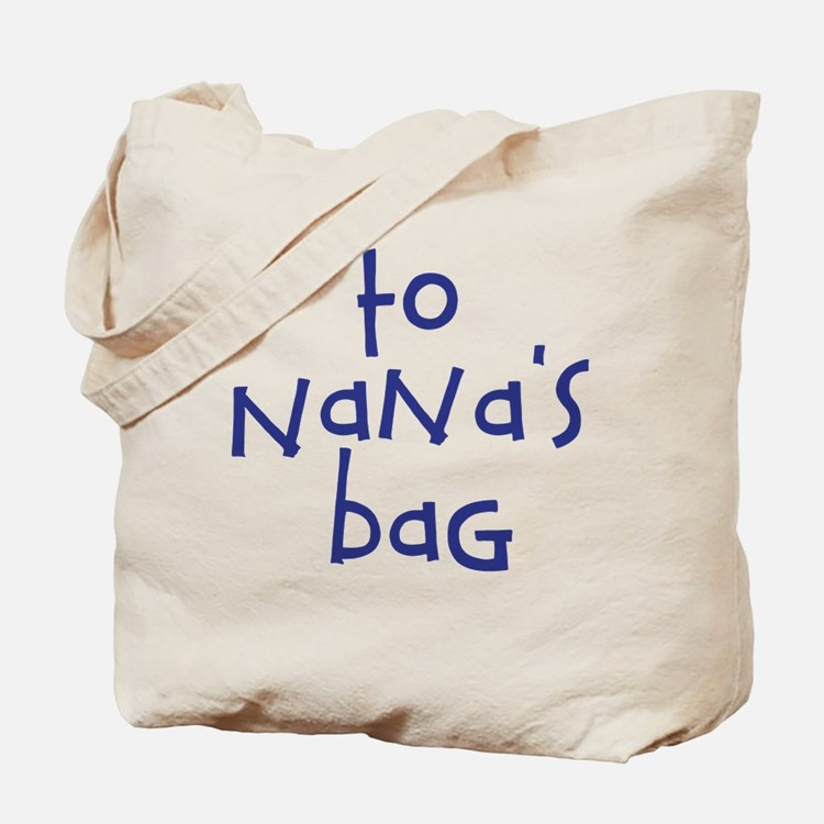 To Nana's House Kid Bag
