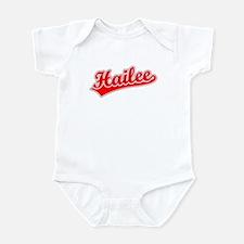 Retro Hailee (Red) Infant Bodysuit