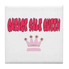 Garage Sale Queen Tile Coaster