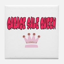 Garage Sale Queen Tile Coaster