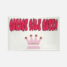 Garage Sale Queen Rectangle Magnet