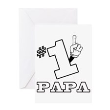 #1 - PAPA Greeting Card