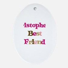 Kristopher's Best Friend Oval Ornament