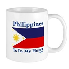 Philippines - Heart Mug
