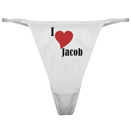 I Love Jacob Thong