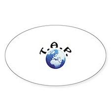 Logo Oval Sticker (10 pk)