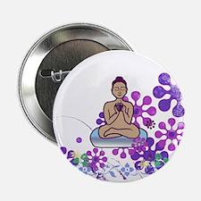 """Java Buddha 2.25"""" Button"""