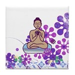 Java Buddha Tile Coaster
