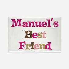 Manuel's Best Friend Rectangle Magnet