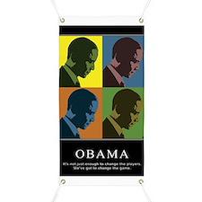 Limited Edition Obama Banner