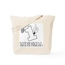 #1 - MEEMA Tote Bag