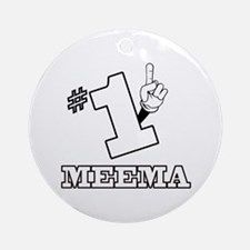 #1 - MEEMA Ornament (Round)