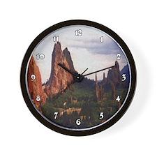 Off Road Scene Clocks Wall Clock